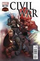 Civil War #2  Marvel Comic Book 1:25 Coipel Variant 2015 NM