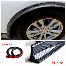 2x Flexible 1.5Meters Long Fender Flare Arch Extension Wide Body Wheel Eyebrow