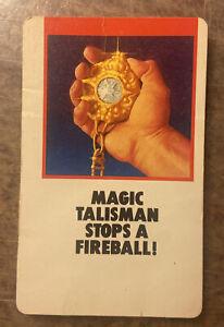 Fireball Island Board Game Replacement Card Piece Magic Talisman Stops Fireball