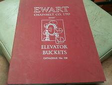 1950s ? EWART CHAINBELT CO. ELEVATOR BUCKETS  Catalogue