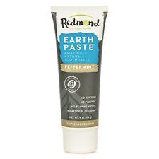 Redmond Earthpaste - Natural Non-Fluoride Toothpaste Peppermint Charcoal 4 Ou...