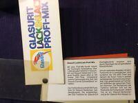 Glasurit Lack in Lack Profi Mix Farbtonblock mit Ral Karte und Rezepturen