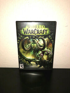 World of Warcraft Legion Collector's Edition Game DVD