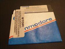 "COMMODORE 128 SYSTEM DISK ORIGINAL Floppy Disc 5,25"" CBM PLUS VERSION 3.0"