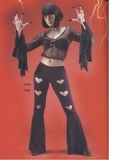 ENSEMBLE DISCO BAT pantalon patdef noir chauve souris halloween taille S