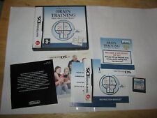 Dr Kawashima's Brain Training How Old is Your Brain Nintendo DS European Version
