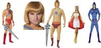 Womens Mens Licensed She Ra He Man Skeletor TV Cartoon Fancy Dress Fun Costumes