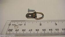 100 Large D Ring 1 Hole Picture Hanger 100 Screws #6 1/2 Framing + Samples
