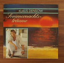 "Single 7"" Vinyl Klaus Densow - Sommernachtsträume"