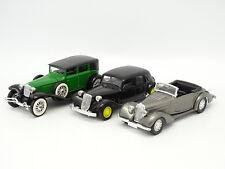 Solido SB 1/43 - Lot de 3 : Talbot T23 - Cord L29 - Citroen Traction