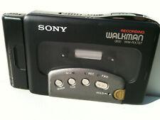 Sony WM-RX707 Walkman Cassette-Corder/Player Kassettenspieler Recorder Metal