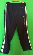 NWT NCAA CHAMPION AIR FORCE FALCONS SWEAT PANTS - NAVY W/ GRAY/WHITE STRIPE - L