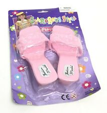 Girl dress up shoes Gift kids Toy Christmas Present Pink Pretty Cute Glamorous
