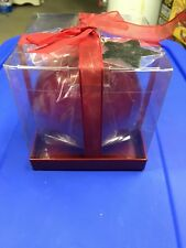 """NIB Things Remembered Large Red Ball Candle -  4.72"""" x 5.12"""" Made in Italy"""