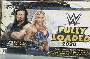 2020 Topps WWE Fully Loaded Hobby Box -  FREE SHIPPING
