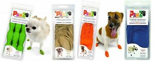 12 PAWZ Rubber Dog Boots - TINY GREEN - Waterproof Ice/Snow - NWT