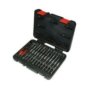 1 x RS Pro Chrome Vanadium Steel 14 Piece Spline Socket Set 710-0649, 1/4in