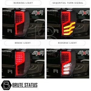 LED Tail Lights for Ford Ranger 2012-2021 Sequential Rear Tail Lamp Light T8