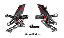 Ducati 848 EVO 1098 1198 LighTech R-Series Track System Adjustable Rearsets