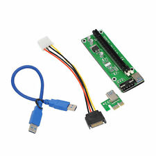 USB 3,0 PCI Express 1x to 16x Extender Riser Card Adapter Cables for GPU Mining