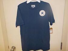 Boys Size Xlarge Converse All Star Chuck Taylor Blue S/S Tshirt Nwt New #2111