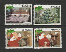 Anguilla 4 timbres neufs Walt Disney le père Noël /T3058