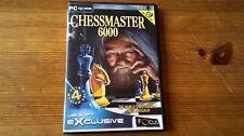 Chessmaster 6000-Schachmeister PC Game-Schnelle Post-komplett