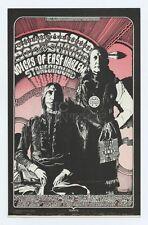 Bill Graham 264 Postcard Ad Back Cold Blood Boz Scagg 1970 Dec 31