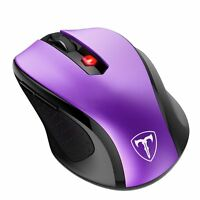 2.4GHz Wireless Cordless Optical Mouse Mice 2400 DPI +USB Receiver for PC Laptop