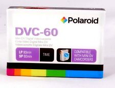 Polaroid Mini DV Digital Videocassette DVC-60 for camcorders 60 minutes SP