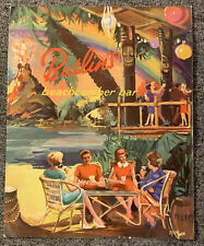More details for vintage original 1970s butlins beachcomber bar menu