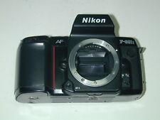 NIKON  F-801s AF boitier argentique autofocus photo photographie