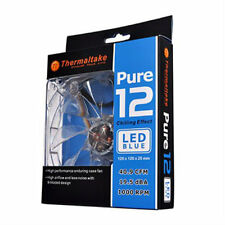 Thermaltake Pure 12 120mm Computer Fan with Blue LED High Performance Less Noise