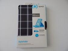 Speck Products StyleFolio Case & Stand for iPad Mini 4 Windowpane Plaid / Black