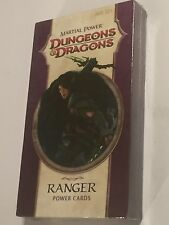NEW OLD STOCK 2009 Dungeons & Dragons D&D martial Power 110 Carte Pack-RANGER