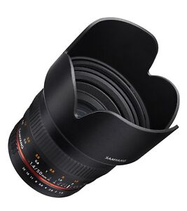 Samyang 50mm F1.4 Lens for Canon EF DSLR Cameras - Model SY50M-C