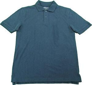 Arrow Boys Size XL (16) Short Sleeve Polo School Uniform Shirt Navy BLue
