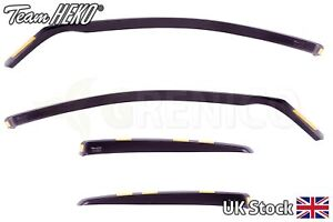 Heko FORD FOCUS mk2 Liftback 4/5-doors 2004-2010 4-pc Wind Deflectors Tinted