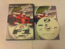 F1 2001 PC CD-Rom Standard Edition Formula 1 Racing EA Worldwide Fastpost!