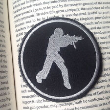 Counter Strike Badge CS Video Game AIRSOFT MILSPEC TACTICAL EMBROIDERY PATCH /01