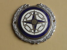 VINTAGE ORIGINAL  CAR BADGE / AUTO EMBLEM.41 CLUB ( ROUND TABLE) J.R.GAUNT