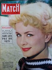 Paris Match No No 475 Jacqueline Huet the American Seen by Cartier-Bresson 1958