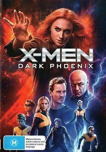 X-MEN - DARK PHOENIX DVD, NEW SEALED AUSTRALIAN RELEASE REGION 4
