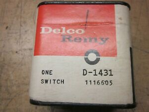 1962 Oldsmobile Ignition Switch #D-1431 NOS