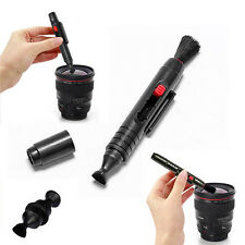 3in1 Lens Cleaning Pen Dust Cleaner Kit For DSLR VCR DC Camera Nikon Sony Canon