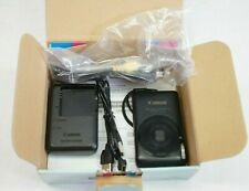 Canon Powershot SD1400 IS ELPH 14.1 MP Digital Camera - Black