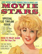 Sandra Dee cover Movie Stars magazine June 1961 Elvis Presley Elizabeth Taylor