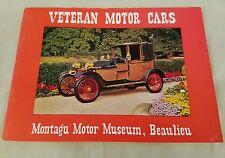 Vintage 1959 Veteran Motor Cars Montagu Motor Museum, Beaulieu