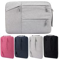 "Soft Handle Zipper Laptop Sleeve Bag for Notbook Macbook HP IBM 11"" 13"" 14"" 15"""