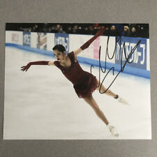 Evgenia Medvedeva Signed Autographed 8x10 Photo Russia Olympics with PROOF -B